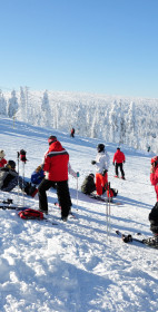 Zimowy krajobraz – wycig  Lolobrigida, Szklarska Porba